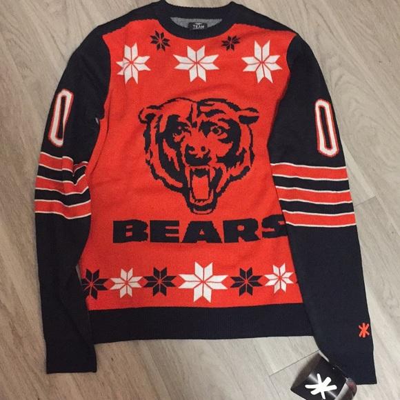 Sweaters New Chicago Bears Ugly Christmas Sweater Medium Poshmark